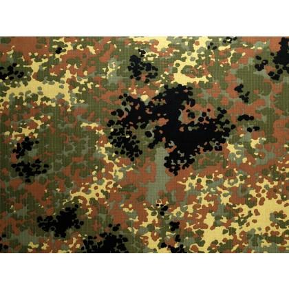 Mittelfeiner Twill -  5-Farb-Flecktarn