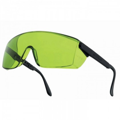 Bollé Schutzbrille IR - B272WPCCIR, Rahmen schwarz, Linse gelb